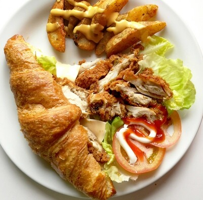 Croissant Chicken Sandwish