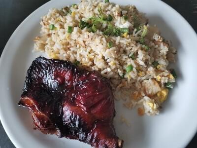Nasi Goreng Cina Ayam Grill