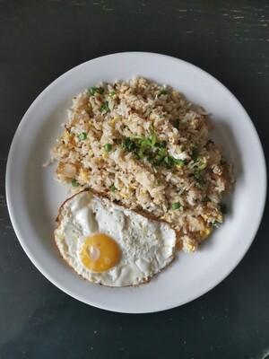 Nasi Goreng Cina Telur Mata