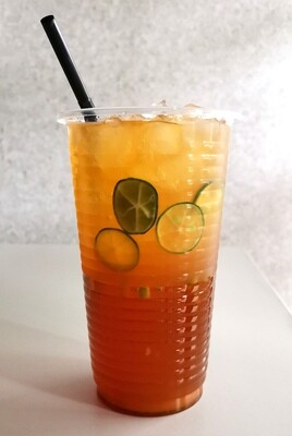 Calamansi Lime Ice Tea / Limau Kasturi (700ml cup)