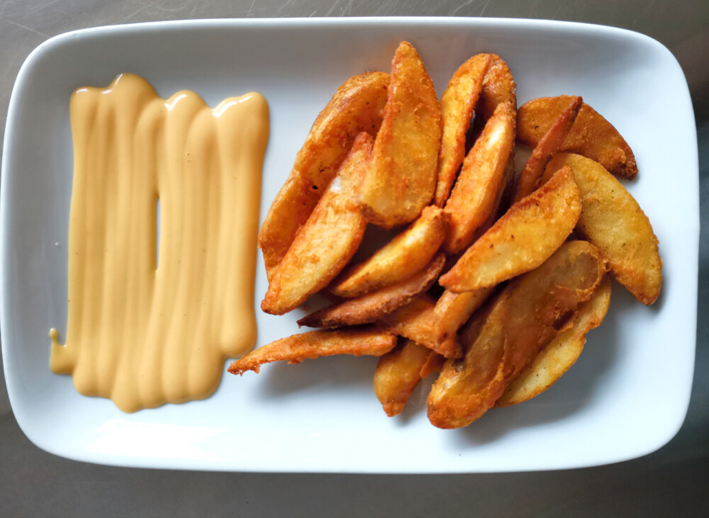 Cheezy Wedges