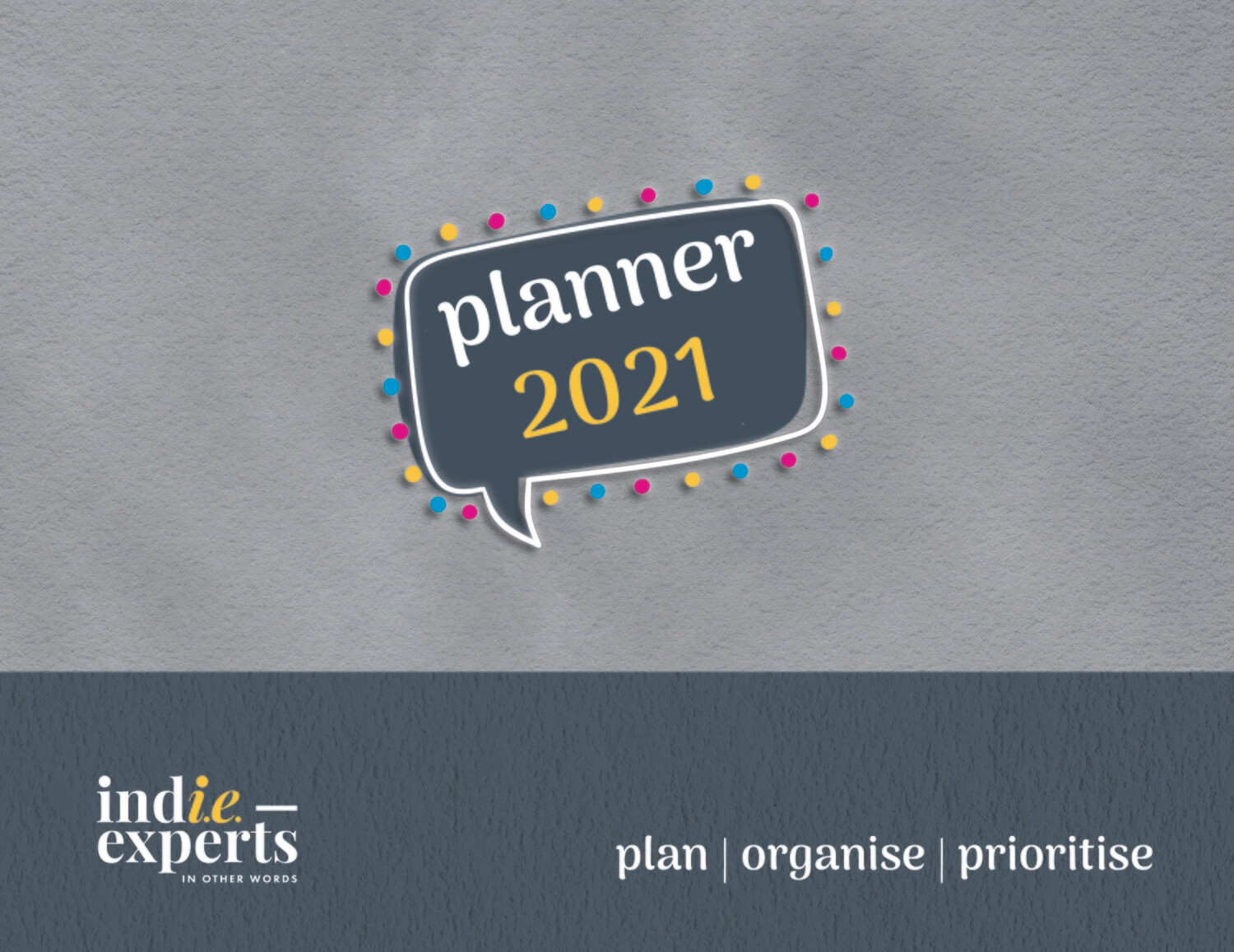 POP PLANNER SOFT Cover CHARCOAL
