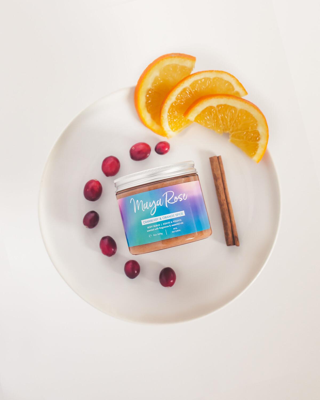 Bodyscrub- Cranberry & Orange Spice
