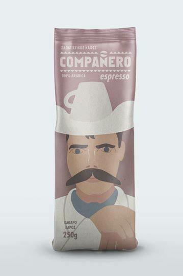Ζαπατίστικος καφές εσπρέσο Compaňero