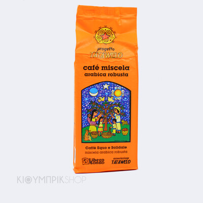 Ζαπατίστικος καφές εσπρέσο και φίλτρου Tatawelo