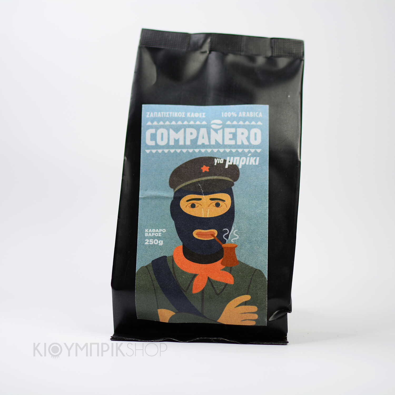 Ζαπατίστικος καφές Compaňero για μπρίκι 100% αράμπικα