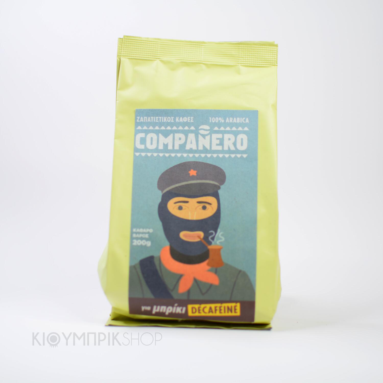 Ζαπατίστικος καφές Compaňero για μπρίκι Ντεκαφεϊνέ