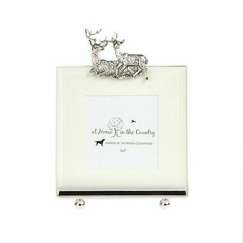 Stag and Doe Photo Frame
