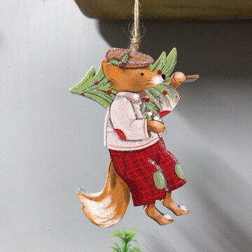 Mr Mouse Christmas Hanging Decoration