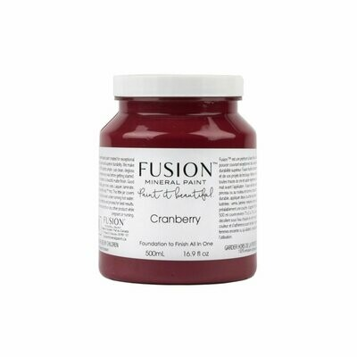 Fusion Mineral Paint - Cranberry