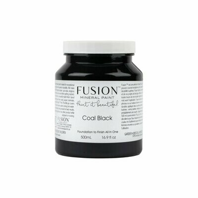 Fusion Mineral Paint - Coal Black