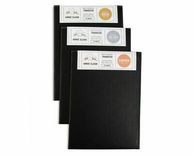 Annie Sloan Chalk Paint Transfer Metal Leaf Booklets