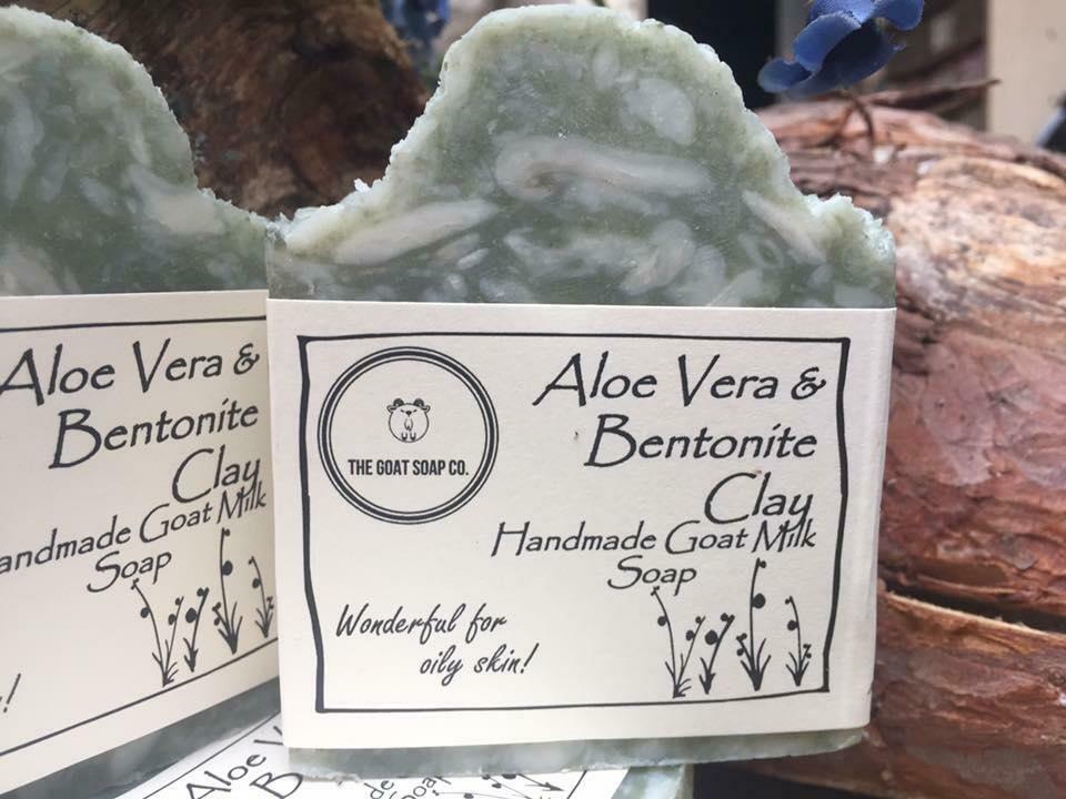 Aloe Vera & Bentonite Goat Milk Soap