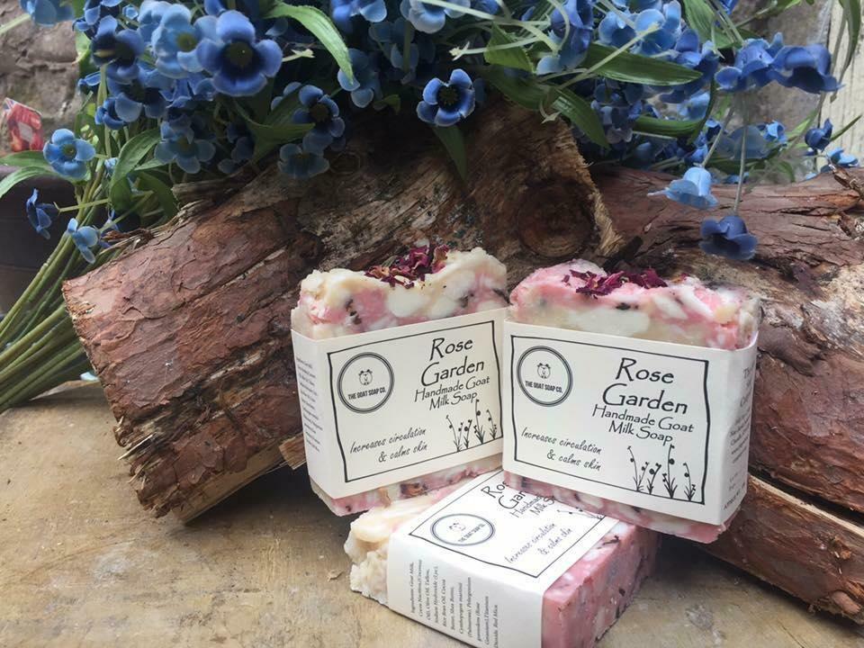 Rose Garden Goat Milk Soap