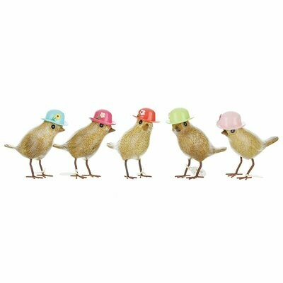 Garden Birds - Floral Hats
