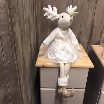 Sitting Princess Reindeer