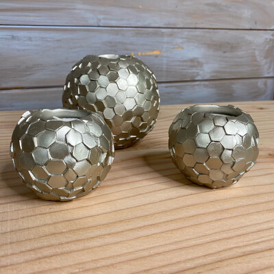 Metallic Tealight Holders