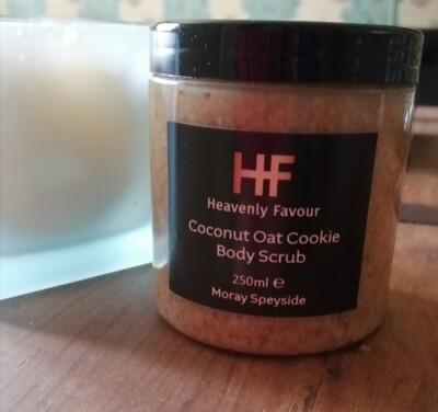 Coconut Oat Cookie Body Scrub 250mls
