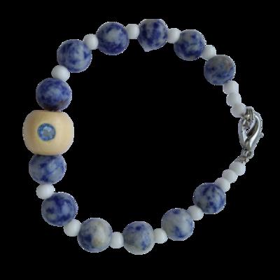 Противопатогенный браслет из натуральных камней
