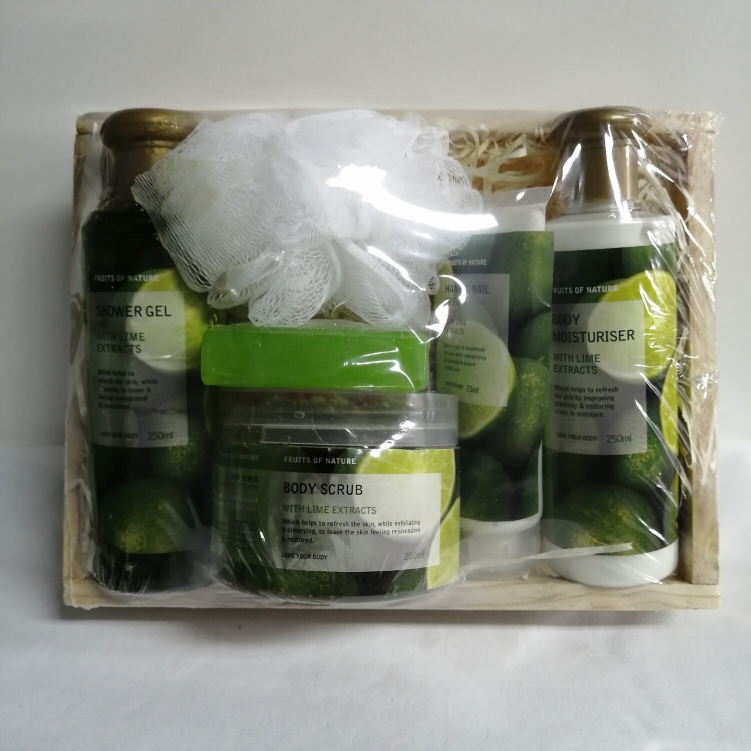 FRUITS OF NATURE LIME EXTRACT BASKET
