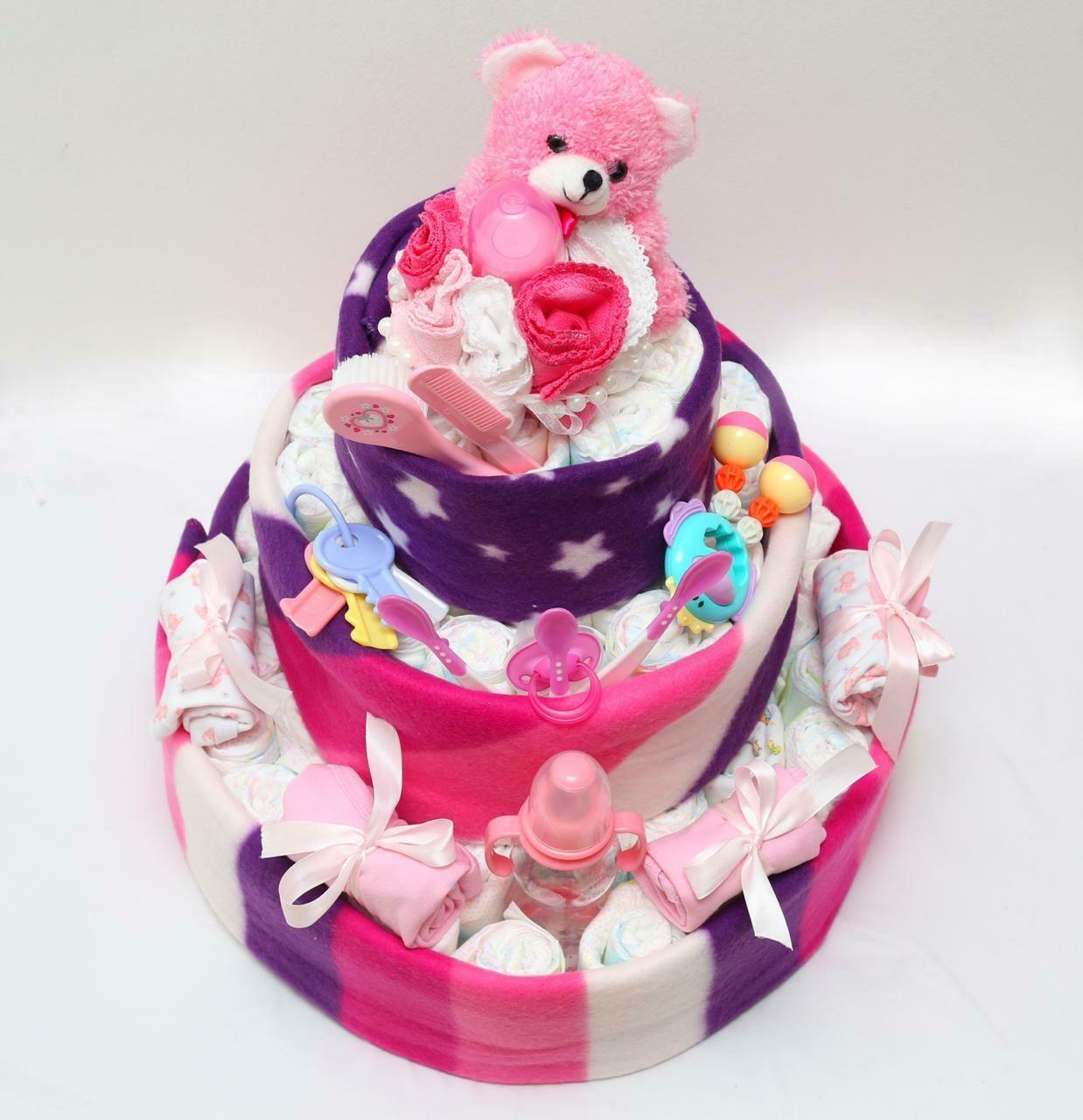 Diaper Cake - Girl