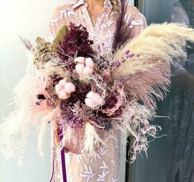 Pink - Dry Flowers box