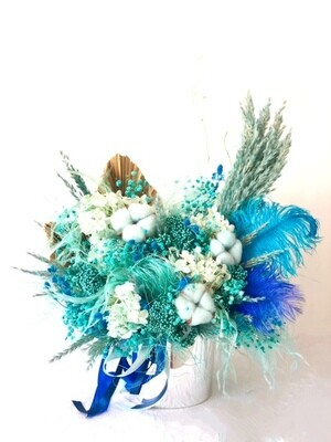 Blue - Dry Flowers box