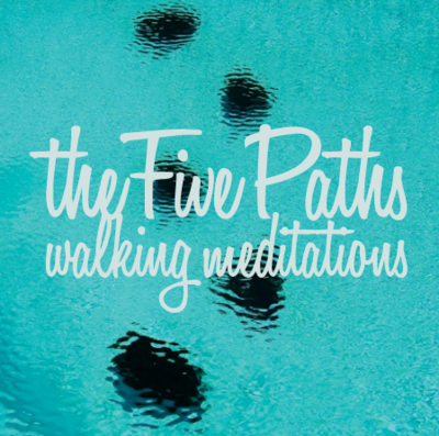 The Five Paths walking meditations CD