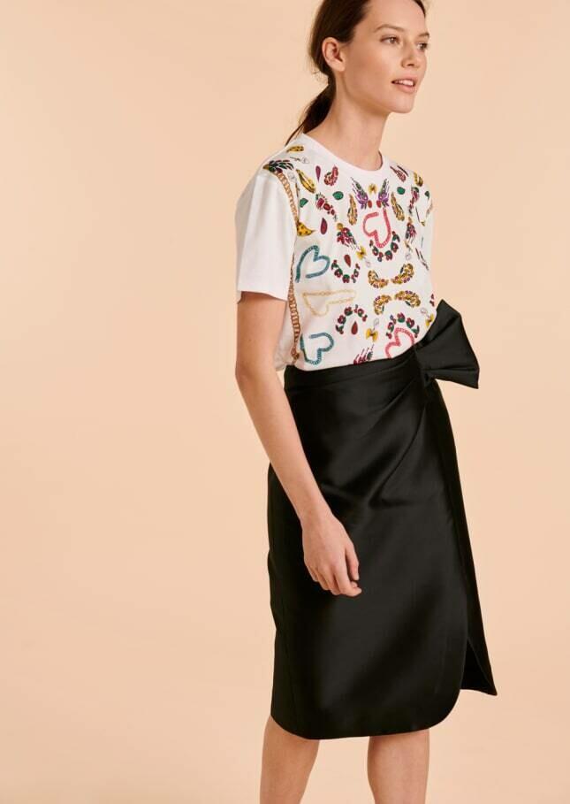 Janice Wrap Skirt