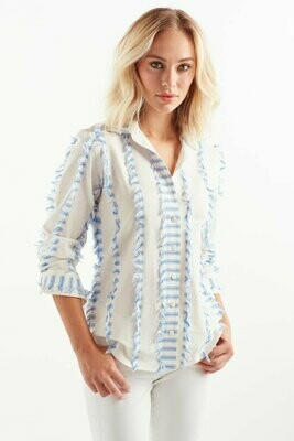 Eyelash Stripe Shirt