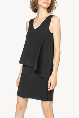 Db Layered V-Neck Dress
