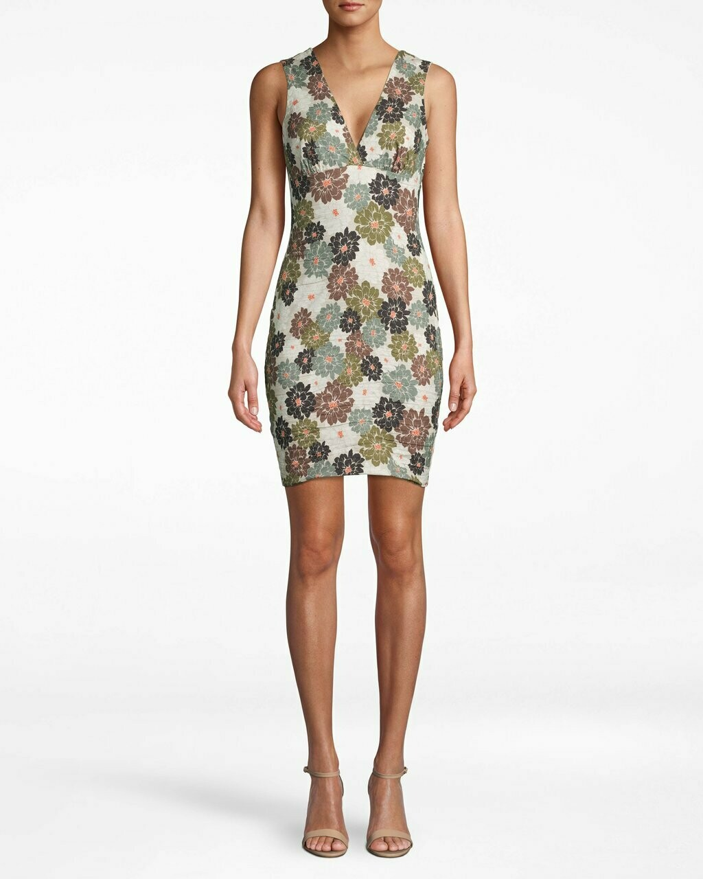Camo Delilah V-neck Dress