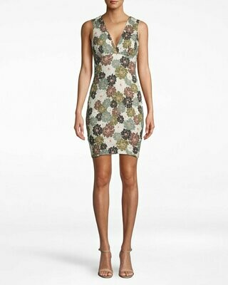 Camo Delilah V-neck Dress