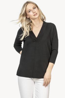 3/4 Sleeve Tunic Sweater