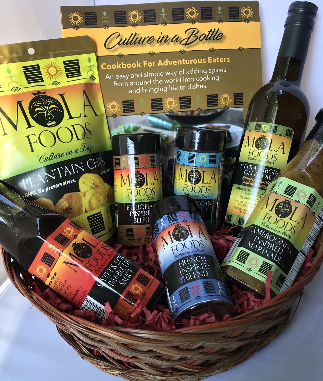 Mola Foods Gift Basket