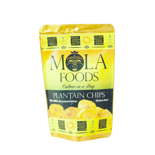 Mola Foods Plantain Chips.