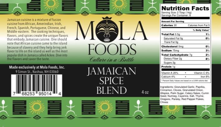 Jamaican Spice Blend