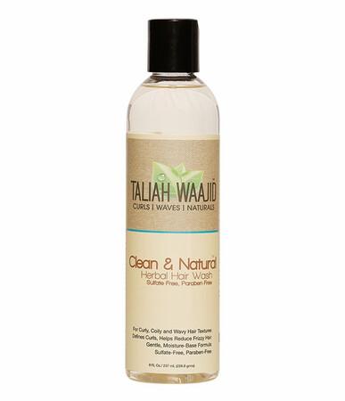 TALIAH WAAJID CLEAN & NATURAL HERBAL SHAMPOO 8oz