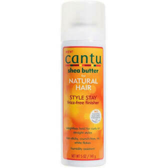 CANTU SHEA BUTTER FOR NATURAL HAIR STYLE STAY FRIZZ-FREE FINISHER 5oz