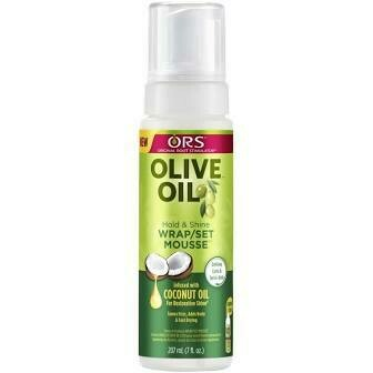 ORS OLIVE OIL HOLD & SHINE WRAP / SET MOUSSE 7oz