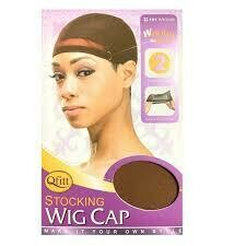 QFITT STOCKING WIG CAP #101 BROWN