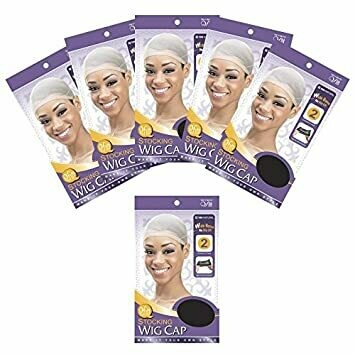 (6 PACK)QFITT STOCKING WIG CAP BROWN #101