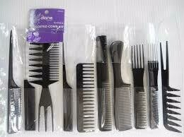 DIANE ASSORTED COMB KIT 10 PK #D7901