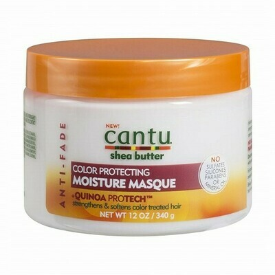 CANTU SHEA BUTTER ANTI FADE COLOR PROTECTING MOISTURE MASQUE 12oz