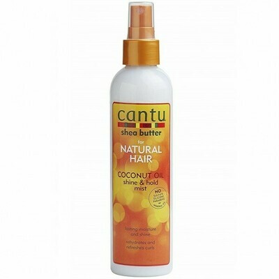 CANTU SHEA BUTTER FOR NATURAL HAIR COCONUT OIL SHINE & HOLD MIST 8.4oz