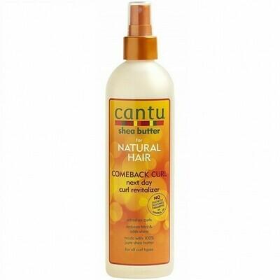 CANTU SHEA BUTTER FOR NATURAL HAIR COMEBACK CURL NEXT DAY CURL REVITALIZER 12oz