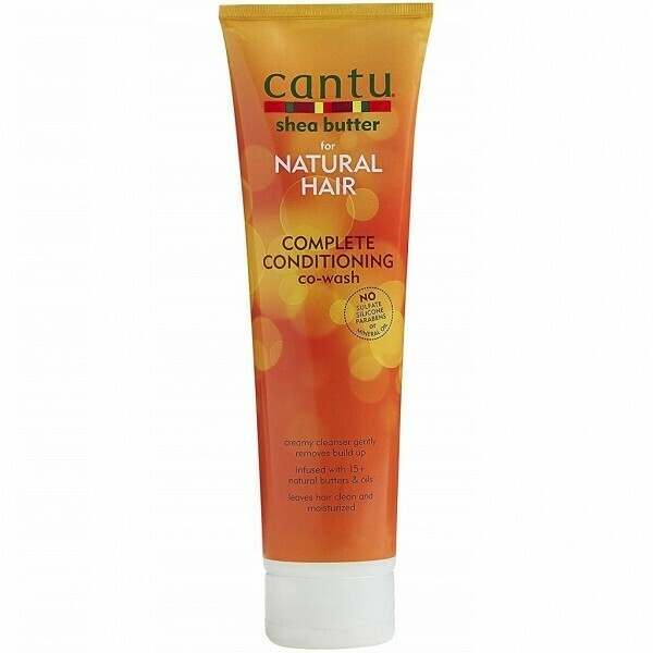 CANTU SHEA BUTTER FOR NATURAL HAIR COMPLETE CONDITIONING CO-WASH 10oz