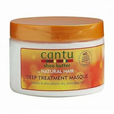 CANTU SHEA BUTTER FOR NATURAL HAIR DEEP TREATMENT HAIR MASQUE 12oz