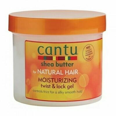 CANTU SHEA BUTTER FOR NATURAL HAIR MOISTURIZING TWIST & LOCK GEL 13oz