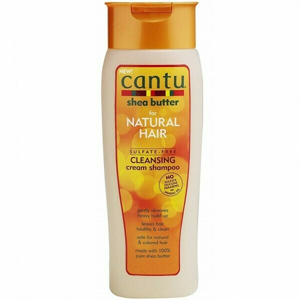 CANTU SHEA BUTTER FOR NATURAL HAIR SULFATE FREE CLEANSING CREAM SHAMPOO 13.5oz